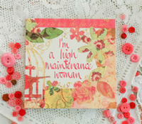Adornment - Card - High Maintenance